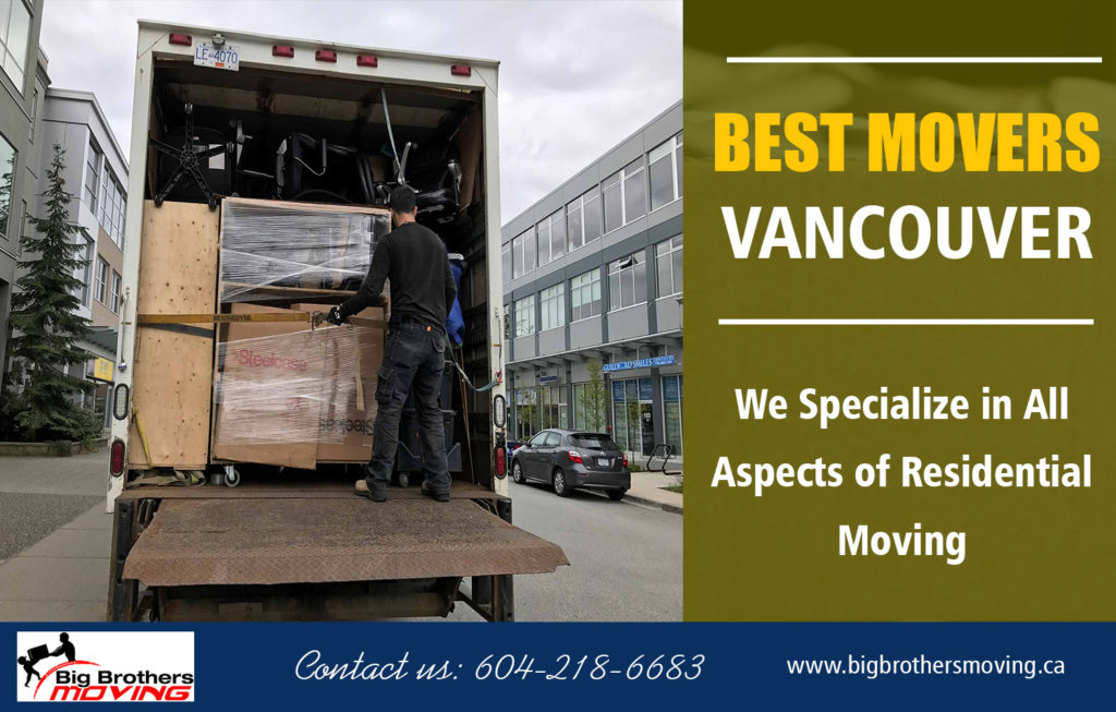 Furniture Movers Vancouver Canada