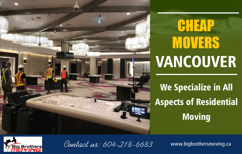 Local North Vancouver Movers Rates